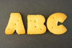abc-bokstav Arkivfoton