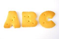 abc-bokstav Royaltyfri Fotografi