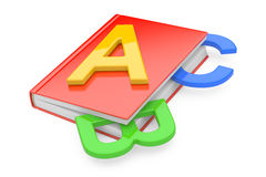 ABC book. On a white background Vector Illustration