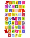Abc- brieven Stock Afbeeldingen