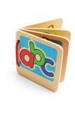 ABC-Buch Lizenzfreie Stockfotografie