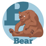 ABC Cartoon Bear3 Stock Photo