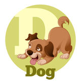 ABC Cartoon Dog4 Stock Photo