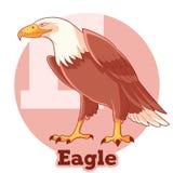 ABC Cartoon Eagle Stock Photography