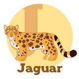 ABC Cartoon Jaguar. Vector image of the ABC Cartoon Jaguar Stock Images