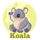 ABC Cartoon Koala Royalty Free Stock Images