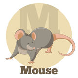 ABC Cartoon Mouse. Vector image of the ABC Cartoon Mouse Royalty Free Stock Image