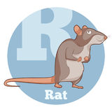 ABC Cartoon Rat. Vector image of the ABC Cartoon Rat Royalty Free Stock Images