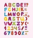 ABC colorido Foto de archivo libre de regalías