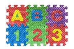 ABC - concepto de la educación básica Foto de archivo libre de regalías