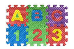ABC - concetto di istruzione di base Fotografia Stock Libera da Diritti