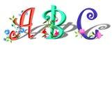 ABC de los niños Ilustración del Vector