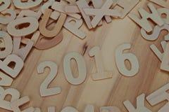 ABC de madera pone letras a alfabeto en el de madera Fotografía de archivo