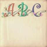 ABC dei bambini Immagini Stock