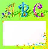 ABC dei bambini royalty illustrazione gratis