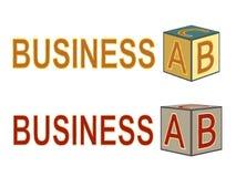 ABC del asunto stock de ilustración