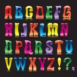 ABC della caramella illustrazione di stock
