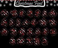 ABC di Natale dalle lettere maiuscole Fotografie Stock Libere da Diritti