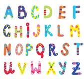 Abc för roliga barn Arkivbilder