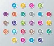 Abc font Stock Images