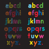 Abc font Royalty Free Stock Photo
