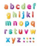 Abc font Stock Photography