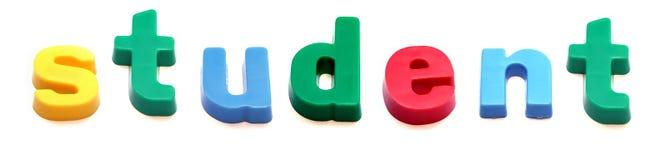 ABC fridge magnets Royalty Free Stock Image