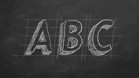 ABC stock illustratie