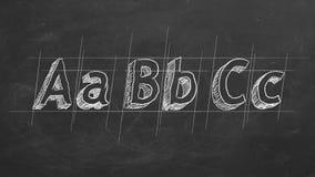 ABC royalty-vrije illustratie