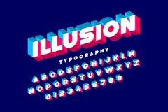 ABC_Illusion ilustração do vetor