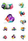 ABC infographics vector Royalty Free Stock Images