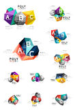ABC infographics vector Royalty Free Stock Image