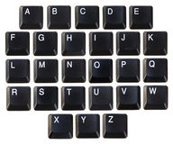 Abc keyboard Stock Photography