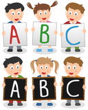 ABC Kids Stock Images