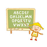 ABC for kids alphabet, illustration, vector, kids, children, fun, Stock Photo
