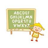 ABC for kids alphabet, illustration, vector, kids, children, fun,. ABC for kids art alphabet illustration vector kids children fun Stock Photo