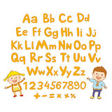 ABC for kids alphabet, illustration, vector, kids, children, fun, Stock Photos