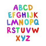 ABC for kids alphabet, illustration, vector, kids, children, fun, Royalty Free Stock Images
