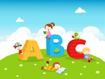 ABC Kids Royalty Free Stock Images