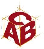abc-kubvektor stock illustrationer