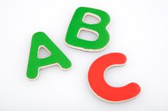 ABC learning tool Royalty Free Stock Photo