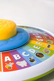 Abc learning wheel royalty free stock photos