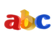 ABC Letters. Colorful ABC Letters  on white background Vector Illustration