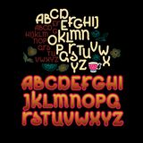 ABC letters. Hand drawn Vector minimalist alphabet. ABC letters. Alphabet uppercase letters. Hand written lettering graffiti font. Hand drawn Vector minimalist stock illustration