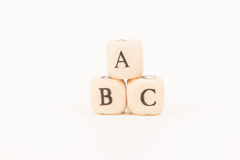 ABC listy Obrazy Stock