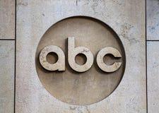ABC logo Obraz Stock