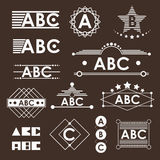 ABC Logo. Is Abstract style for business - Vector vector illustration