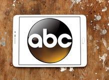 ABC, logotipo americano de la compañía de radiodifusión imagenes de archivo