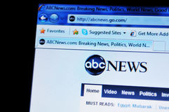 ABC News Stock Foto