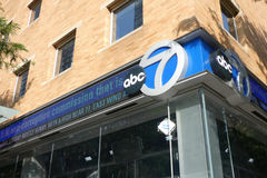 ABC News Ticker Royaltyfri Bild